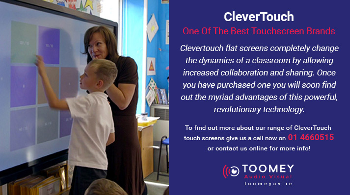 Clevertouch Interactive Touch Screen - Toomey Audio Visual