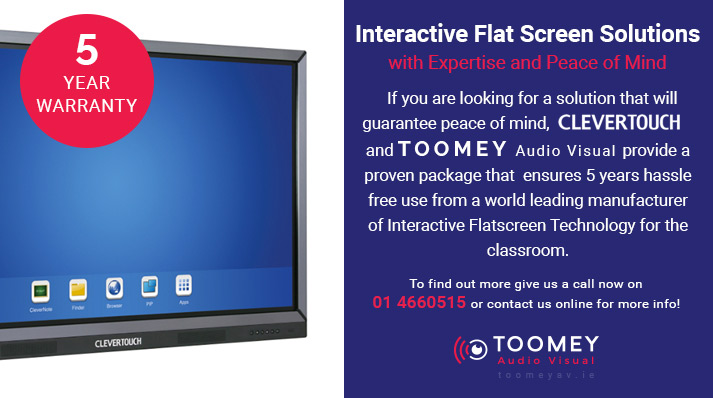 Interactive Flatscreen Solutions for Schools - Toomey AV