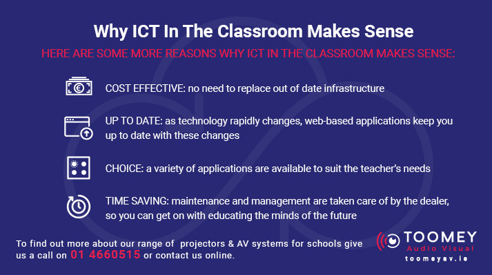 Benefits of ICT in the Classroom - Toomey Audio Visual