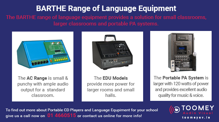 Barthe Range of Language Equipment for Schools