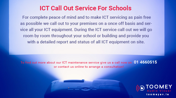 ICT Equipment Servicing and Maintenance - Toomey AV Ireland