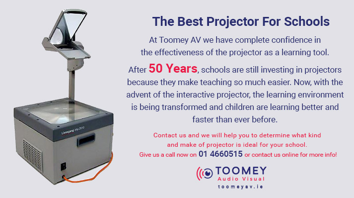 The Best Projector for Schools - Toomey AV Ireland