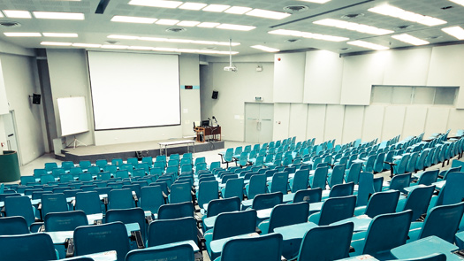 Ceiling Projector System - School Halls - Toomey