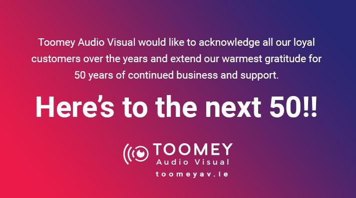 Toomey AV - 50 Year Anniversary