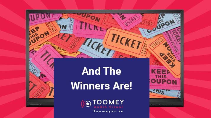 Toomey AV Anniversary Competition Winners