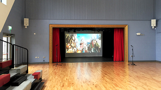 Projector System Hall - Toomey