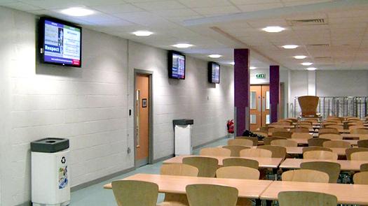 Digital Signage - School - Toomey AV Dublin