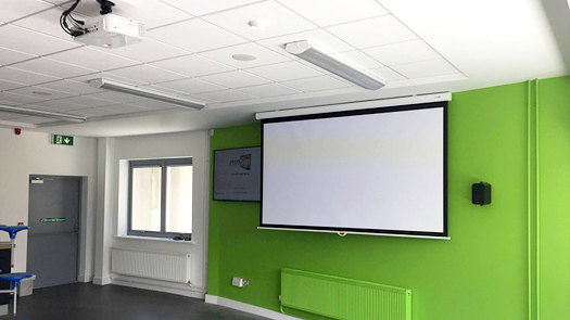Short Throw Projector System - AV System - Toomey AV Ireland