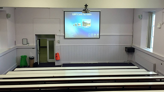 AV System - Sound System Hall School - Toomey