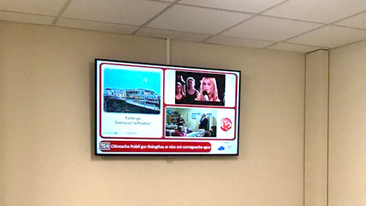 Toomey AV - Digital Signage for New Schools