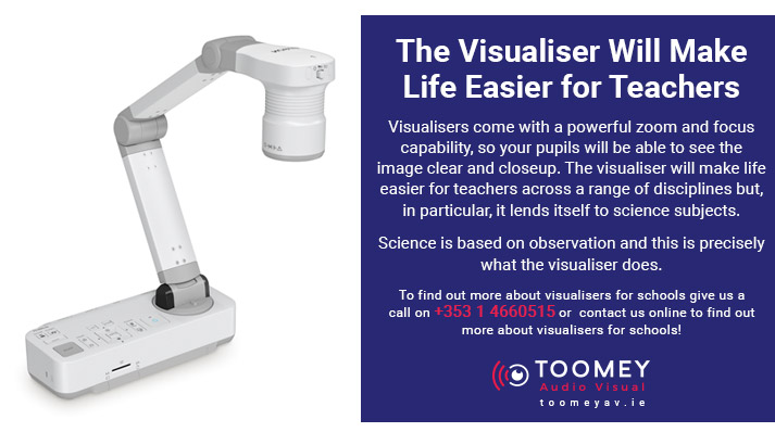 Visualizers for Schools - Toomey AV