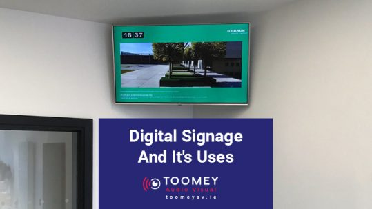 Digital Signage and it's uses for schools - Toomey AV