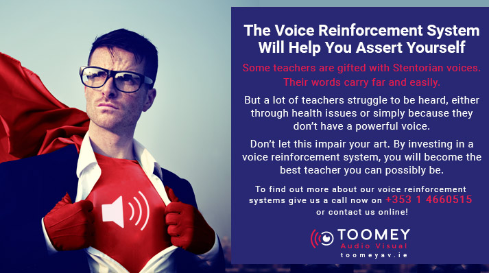 Voice Reinforcement System for Schools - Toomey Audio Visual