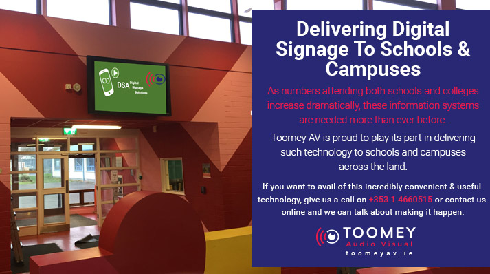 Android Digital Signage for Schools and Campuses Ireland