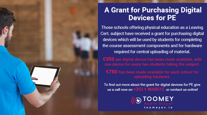 Grant Scheme for Digital Devices for PE Equipment
