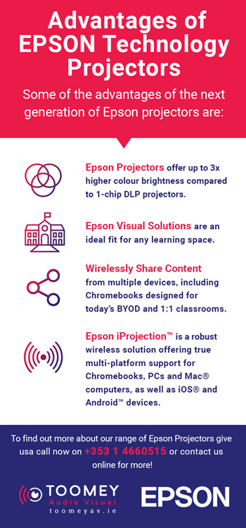 Advantages of Epson Projectors