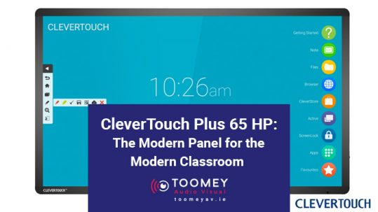 CleverTouch Plus 65 HP - The Modern Panel for the Modern Classroom