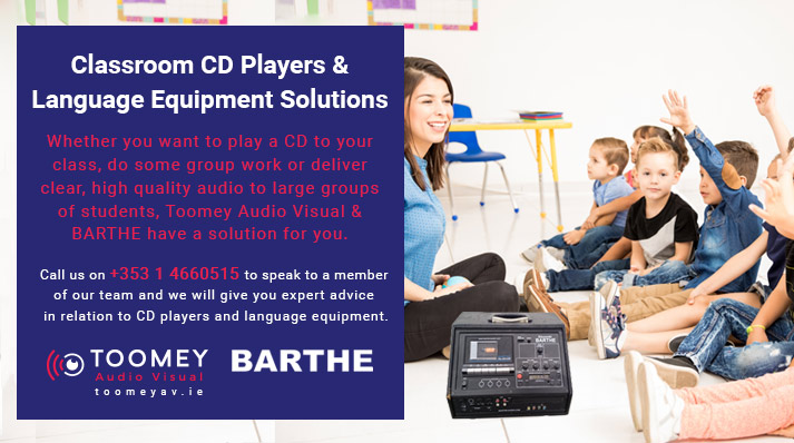 Classroom CD Players & Language Equipment For Schools