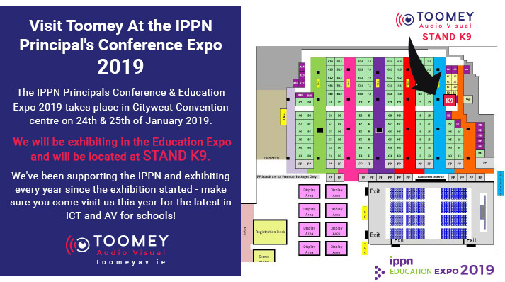 Visit Toomey at the IPPN Education Expo 2019