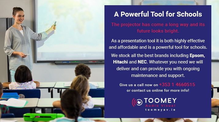 Projectors for Schools Ireland