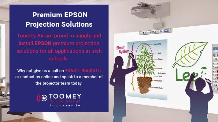 Premium EPSON Projectors for Schools - Toomey AV