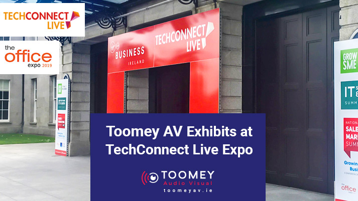 Toomey AV Exhibits at TechConnect Live Expo