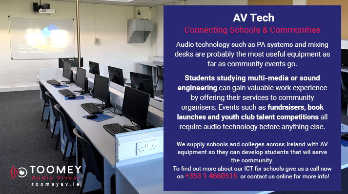 AV Technology to Connect Schools and Communities
