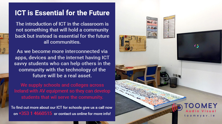ICT Is Essential for the Future -Toomey AV