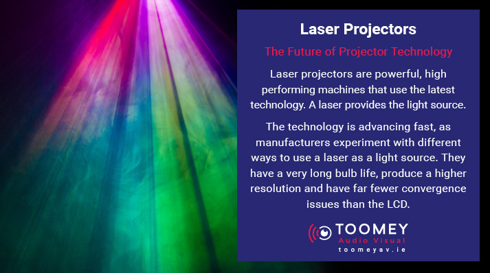 Projector Technology - Laser Projector - Toomey AV