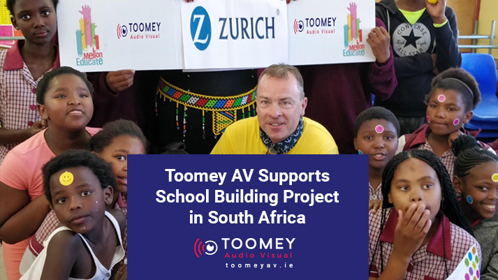 School Building Project South Africa - Toomey AV Supports