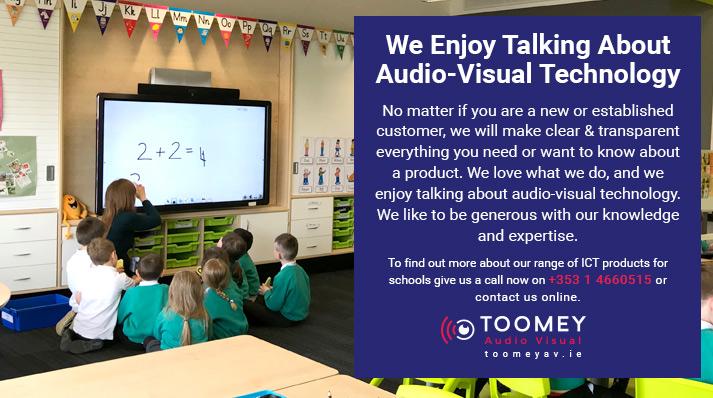 Audiovisual Techonology for Schools - Toomey AV Ireland