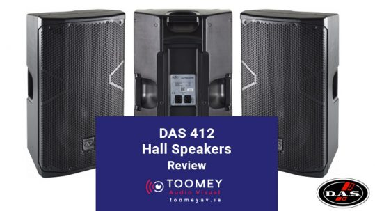 DAS Audio 412 Hall Speakers - Review - Toomey Audiovisual Dublin