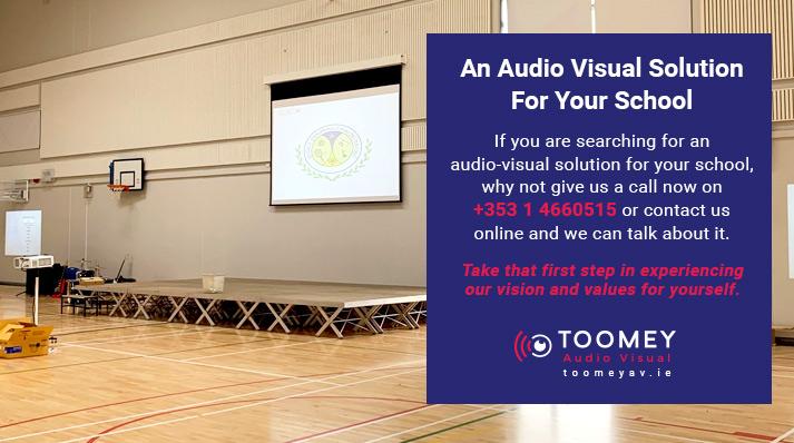 School Audio Visual Solutions Ireland - Toomey AV