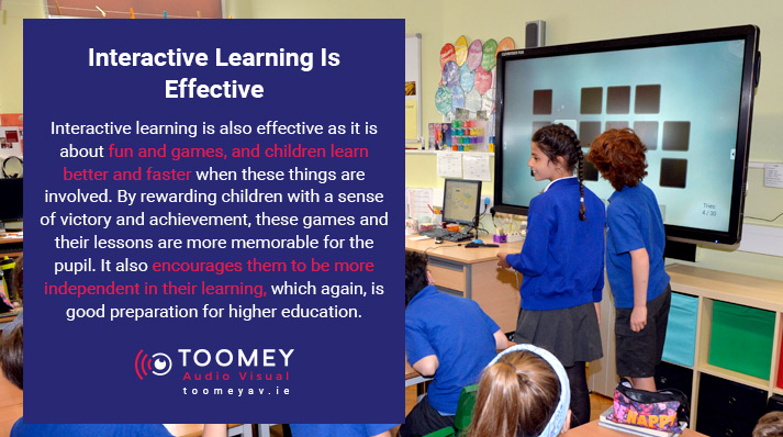 Effective Interactive Learning - Interactive Flatscreens