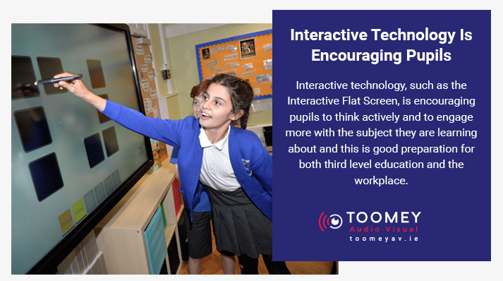 Interactive Technology Encouraging Pupils - Toomey AV