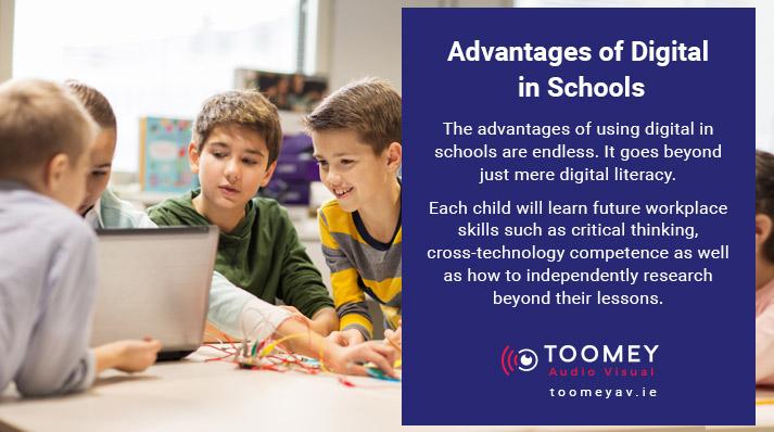 Advantages of Using Digital in Schools