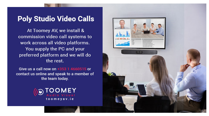 Poly Studio Video Calls - Rental for Schools - Toomey AV Dublin