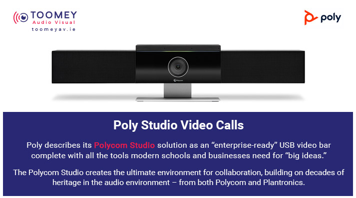 Poly Studio Video Calls for Schools - Toomey AV Dublin