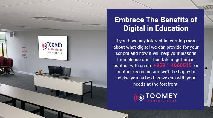 Digital for Irish Schools - Toomey Audiovisual