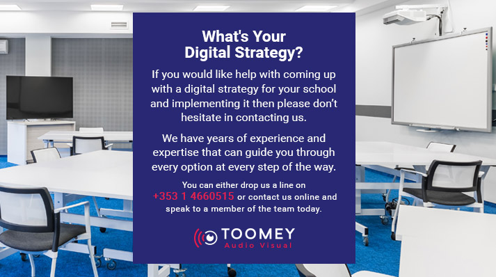 Digital for Schools - Toomey Av Ireland