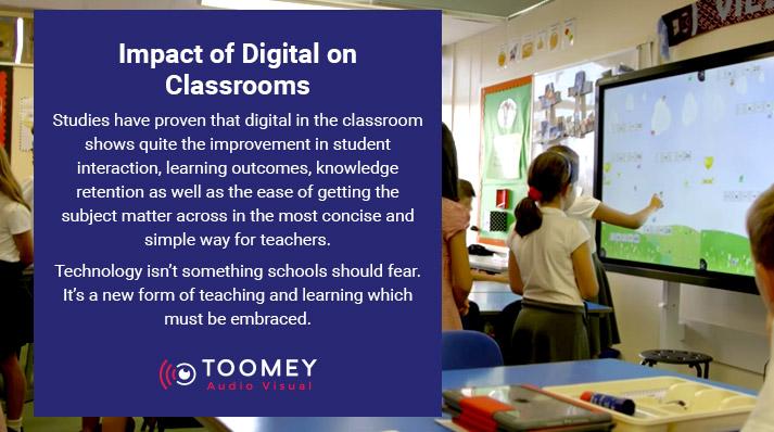 Impact of Digital Classrooms on Irish Schools - Toomey Audiovisual
