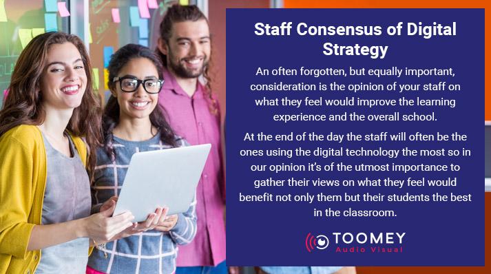 Staff Consensus for Digital Strategy for Schools - Toomey