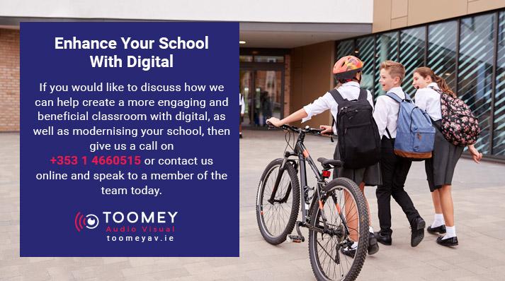 Digital Technology for Schools School - Audiovisual Suppliers - Toomey Ireland