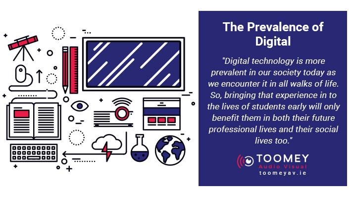 Digital in Schools - Audiovisual - Toomey Ireland