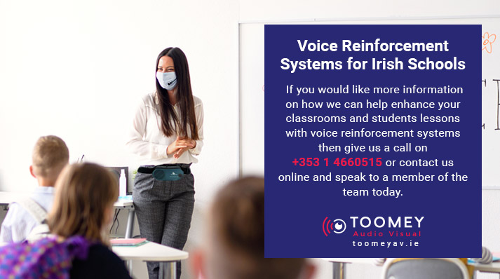 Voice Reinforcement for Schools - Ireland - Toomey AV