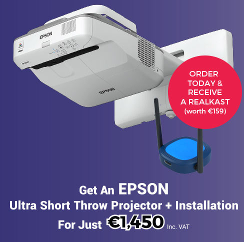 NAPD Offer - EPSON Projector - Toomey AV