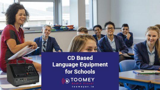 CD Based Language Equipment for Schools - Toomey AV