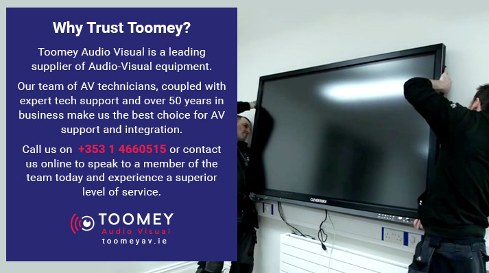 Why Trust Toomey AV for Schools