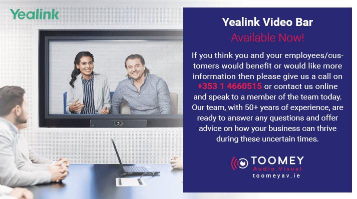 Yealink Videobar UVC 40 Buy Now - Toomey Ireland