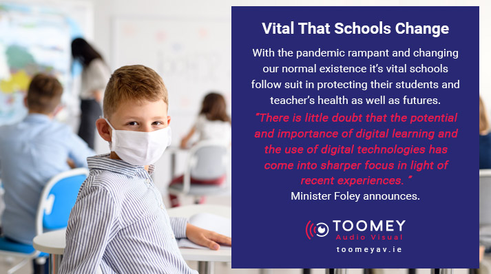 Digital Learning for Schools During Covid Pandemic - Toomey AV